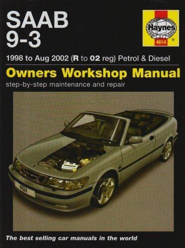 saab-9-3-petrol-and-diesel-service-and-repair-manual-by-ak-legg-2007-hardcover