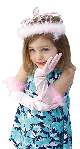 Bundle-of-2-Great-Pretenders-Princess-Accessories-Dress-up-Set-with-Pink-Gloves-and-Princess-Tiara