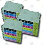 18 Chipped Compatible Epson T0801-6/T0807 Hummingbird Ink Cartridges for Epson Stylus Photo RX685