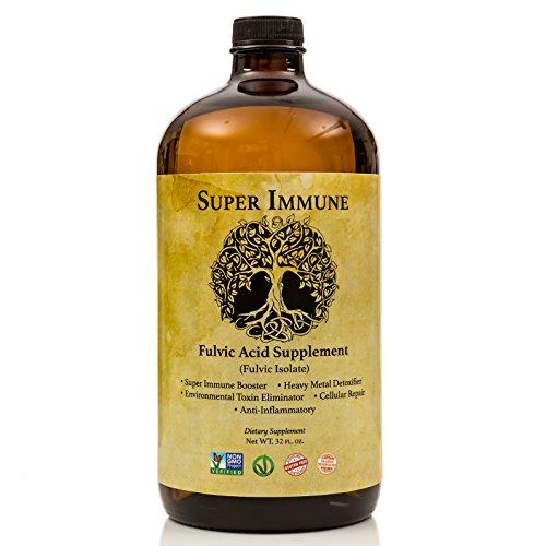 Fulvic acid supplements