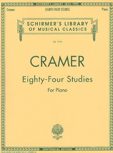 84 Studies for Piano (Schirmer's Library of Musical Classics)