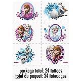 Disney Frozen Temporary Tattoo Sheets, 4ct