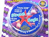 Pepperell 0.7mm Stretch Magic Bead and Jewelry Cord, 5m, Clear