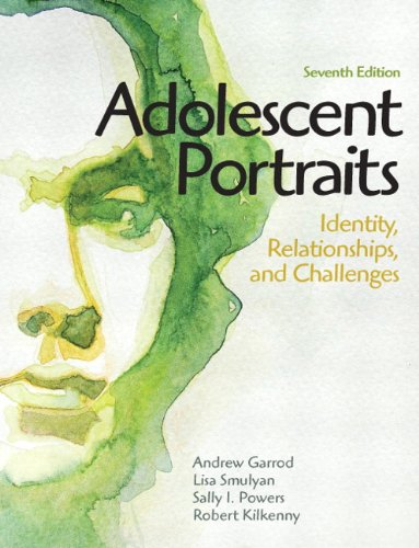 Adolescent Portraits: Identity, Relationships, and...