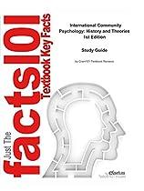 INTERNATIONAL COMMUNITY PSYCHOLOGY, HISTORY AND THEORIES: PSYCHOLOGY, PSYCHOLOGY