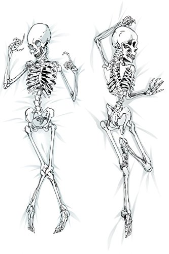 Personalized pillowcase Dakimakura Hugging Body Pillow Case The Skeleton 511106 (What Type Of Anim compare prices)