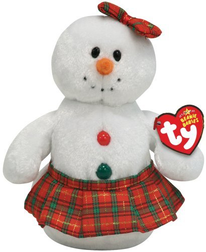 TY Jingle Beanie Baby - COOLSTINA the Snowgirl