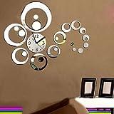 Horloge Murale DIY 3D Digital moderne Décoratif Décoration mural Salon Chambre Maison