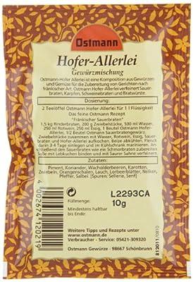 Ostmann Hofer Allerlei, 5er Pack (5 x 10 g) von Ostmann bei Gewürze Shop