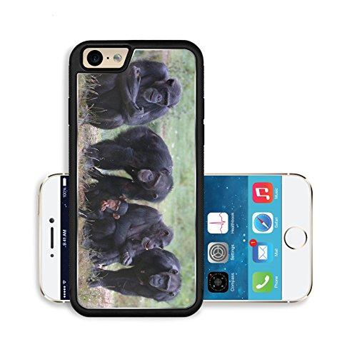 Luxlady Premium Apple iPhone 6 iPhone 6S Aluminium Snap Case When Monkey s Go Bad IMAGE ID 221188