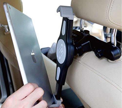 Premium auto ipad supporto poggiatesta auto rotante a 360 for Supporto auto tablet 7 pollici