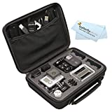 Custom GoPro Case For GoPro Hero, Hero2, Hero3, Hero3+, GoPro HERO4 Silver, GoPro HERO4 Black, GoPro HERO Action Camera and Accessories - Ideal for Travel or Home Storage - Complete Protection for Your GoPro Camera + ButterflyPhoto Cleaning Cloth