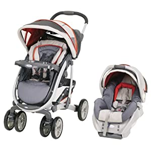 Graco Quattro Tour Travel System with SnugRide Car Seat Marlowe 2009
