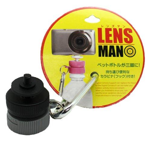 LENSMAN(レンズマン) 黒・黒・グレー 【ペットボトルが三脚に早変わり】 09348B0