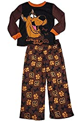 Scooby Doo - Little Boys Long Sleeve Scooby Doo Pajamas