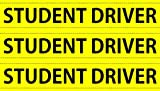 STUDENT DRIVER - MAGNETIC SIGNS - SET OF 3 - BRAND NEW - 35 MIL!