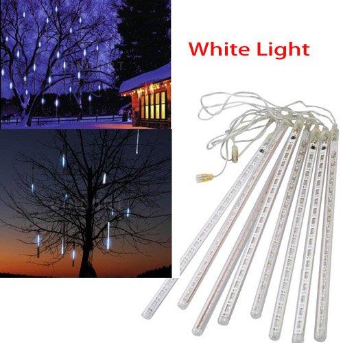 8Pcs 30cm Outdoor LED Light Tube Meteor Shower