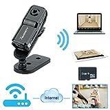 Toughsty™ 小型カメラ WIFI機能付き ドライブレコーダー 車上荒らしや事故時の証拠確認に最適 無線リモート防犯カメラ 超軽量ビデオカメラ 録画・録音、防犯、証拠撮影 スマホ・IOS・PC対応可