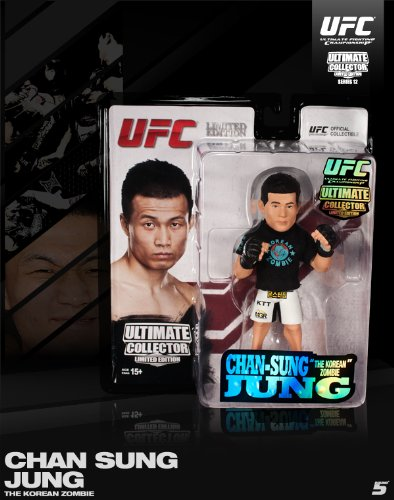 Korean Zombie Round 5 UFC Ultimate Collector Series 12 Limited Edition #750