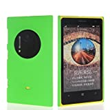 Wow Matte Rubberized Finish Hard Case For Nokia Lumia 1020-Green