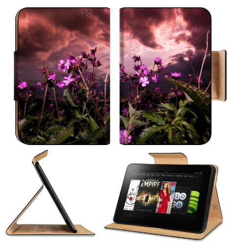 Flowers Flowerbed Summer Sunny Garden Amazon Kindle Fire Hd 8.9 [2012 Version] Flip Case Stand Magnetic Cover Open Ports Customized Made To Order Support Ready Premium Deluxe Pu Leather 9 13/16 Inch (250Mm) X 6 7/8 Inch (175Mm) X 11/16 Inch (17Mm) Liil Pr front-950366