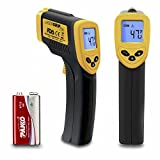 Etekcity Lasergrip 774 Non-contact Digital Laser Infrared Thermometer, Yellow and Black