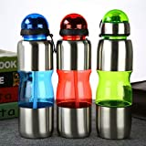 Satyam Kraft Diwali Collection 500 Ml Stainless Steel Water Bottle For Gym.sports,school & Gift-GREEN 1 Pcs