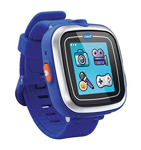 VTech-Kidizoom-SmartWatch-infantil-128-MB-pantalla-de-144-resolution128-x-128-pixeles-color-azul-versin-francesa