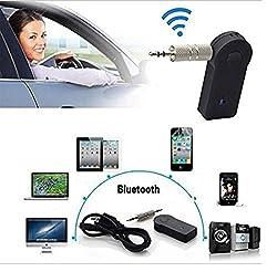Micomy Mini Portable TS-BT35A08 3.5mm Input Bluetooth Audio Receiver w/ HF Call + MIC - Black
