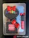 City Color Cosmetics Polka Dot Bow Makeup Kit - Eyeshadow, Lip Glosses & Blush