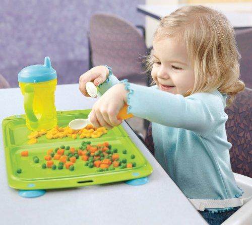 凑单品:Fisher-Price 费雪 On-the-Go  可折叠儿童餐盘 $4.53图片
