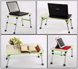 "Multipurpose Adjustable Height ""7Trees"" Brand Ergonomic Laptop Desk - One Desk Multipurpose Uses"