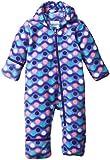 Columbia Baby-Girl Newborn Snowtop II Bunting, Purple Lotus/Wavy Dot Print, 6/12 Color: Purple Lotus/Wavy Dot Print Size: 6/12