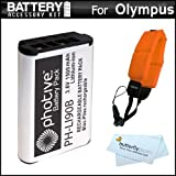 Battery Kit Bundle For Olympus TOUGH TG-1 IHS TG-1iHS TG 1 IHS TG-2 IHS TG-2iHS Waterproof Digital Camera Includes...