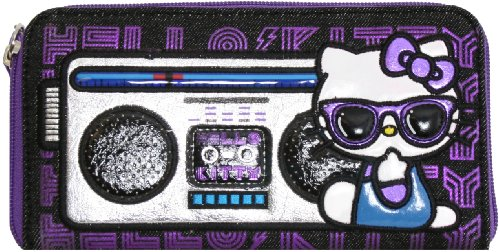 Loungefly Sanrio Hello Kitty Purple Shades Boombox Wallet