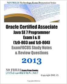 oracle certified associate java programmer pdf
