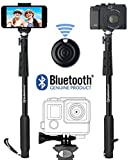 Professional-10-In-1-Monopod-Selfie-Stick-For-GoPro-Hero-iPhone-Samsung-Galaxy-Digital-Cameras-With-Bluetooth-Remote-Shutter-Cellphones-Only