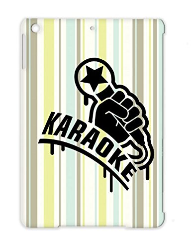 Karaoke1 F1 Tpu Black Mic Microphone Superstar Hiphop Karaoke Concert Rap Hand Miscellaneous Rock King Music Case Cover For Ipad Air