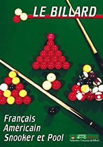 le billard pool snooker fran ais am ricain sport loisirs billard movies tv. Black Bedroom Furniture Sets. Home Design Ideas