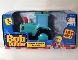 amazoncom bob the builder talking vehicle travis toys