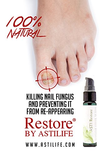 NO MORE: Nail Fungus, Foot Fungus or Nail infection. Nail Salons Love the fact it is 100% Natural. Includes E-Book