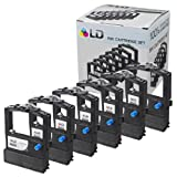 LD � Okidata Compatible Replacement 6 Pack Black Printer Ribbon Cartridges - 52106001