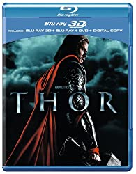 Thor (Blu-ray 3D + Blu-ray + DVD + Digital Copy) [2011][Region Free]