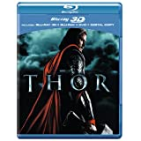 Thor (Blu-ray 3D + Blu-ray + DVD + Digital Copy) [2011] [Region Free]by Chris Hemsworth