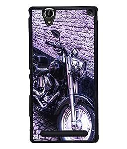 Fuson 2D Printed Bike Designer back case cover for Sony Xperia T2 Ultra - D4501
