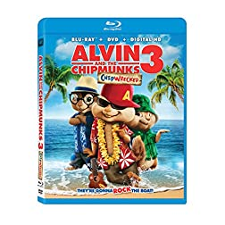 Alvin & The Chipmunks: Chipwrecked [Blu-ray]