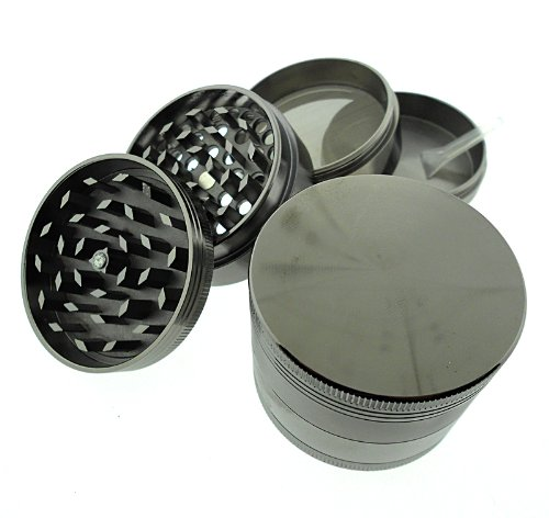 Titanium 4 Pc Herb Magnetic Grinder Large 2.5 Inch