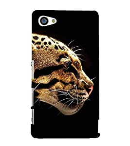 Angry Cheetah 3D Hard Polycarbonate Designer Back Case Cover for Sony Xperia Z5 Compact :: Sony Xperia Z5 Mini