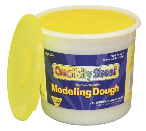 Yellow Modeling Dough, 3.3 lb.