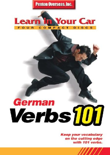 German Verbs 101 (Learn In Your Car) (German Edition)